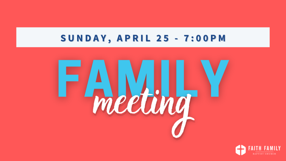 family meeting april 1